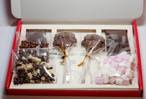 Luxury Belgian Hot Chocolate Gift Box - Farm Theme