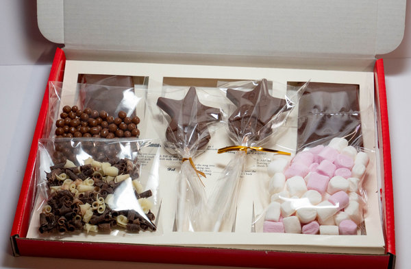 Luxury Belgian Hot Chocolate Gift Box - You're a Star