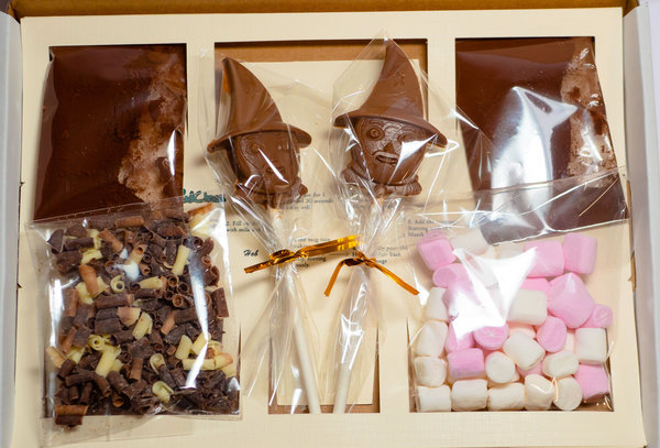 Luxury Wizard Hot Belgian Chocolate Gift box for two.