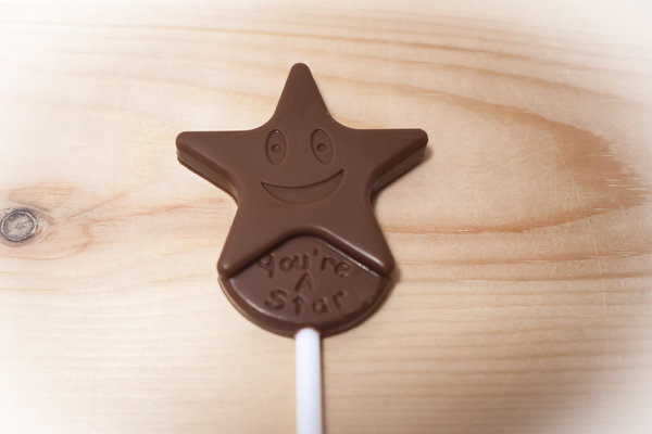 Belgian chocolate lollipops, You're a Star Mix and Match